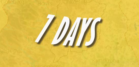 7-days adventure