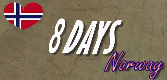 8-days adventure