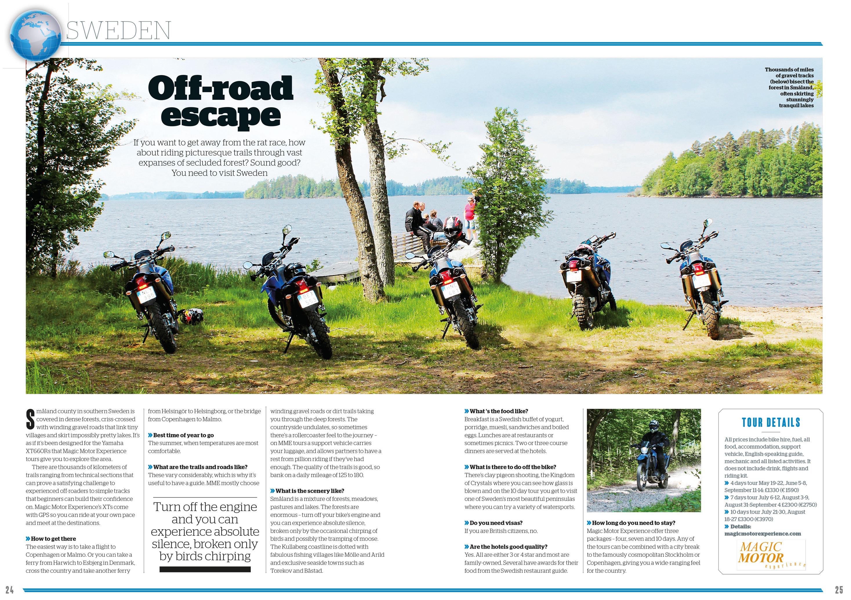 Bike Magazine Off-road escape